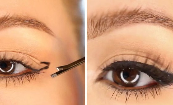 This Genius Bobby Pin Hack Will Give You Winged Liner Every Time 34