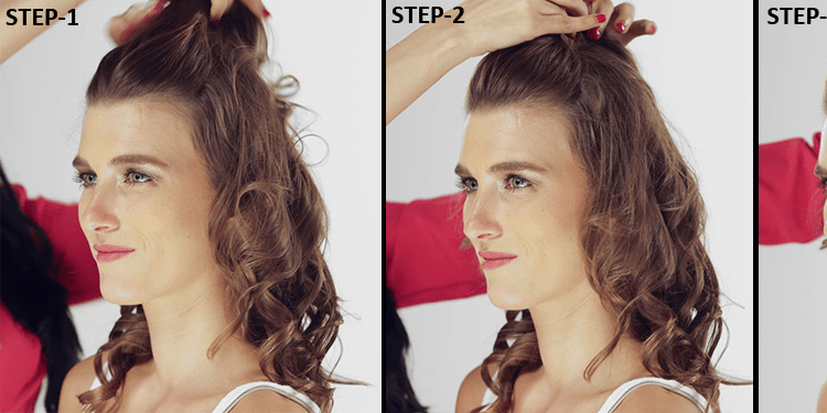 Try Cute Hairstyles To Give You Glamorous Look In 10 Minutes 2