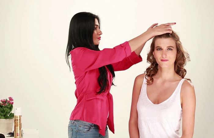 Puff Hairstyle DIY – Step By Step Tutorial 2