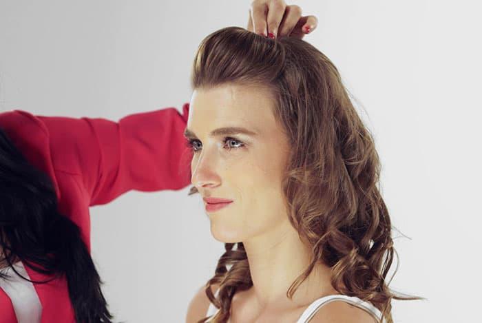 Puff Hairstyle DIY – Step By Step Tutorial 5