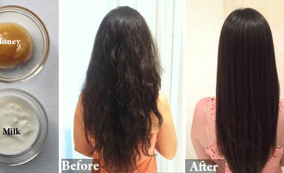 Straighten your hair naturally