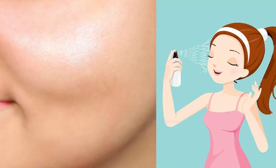 face spray