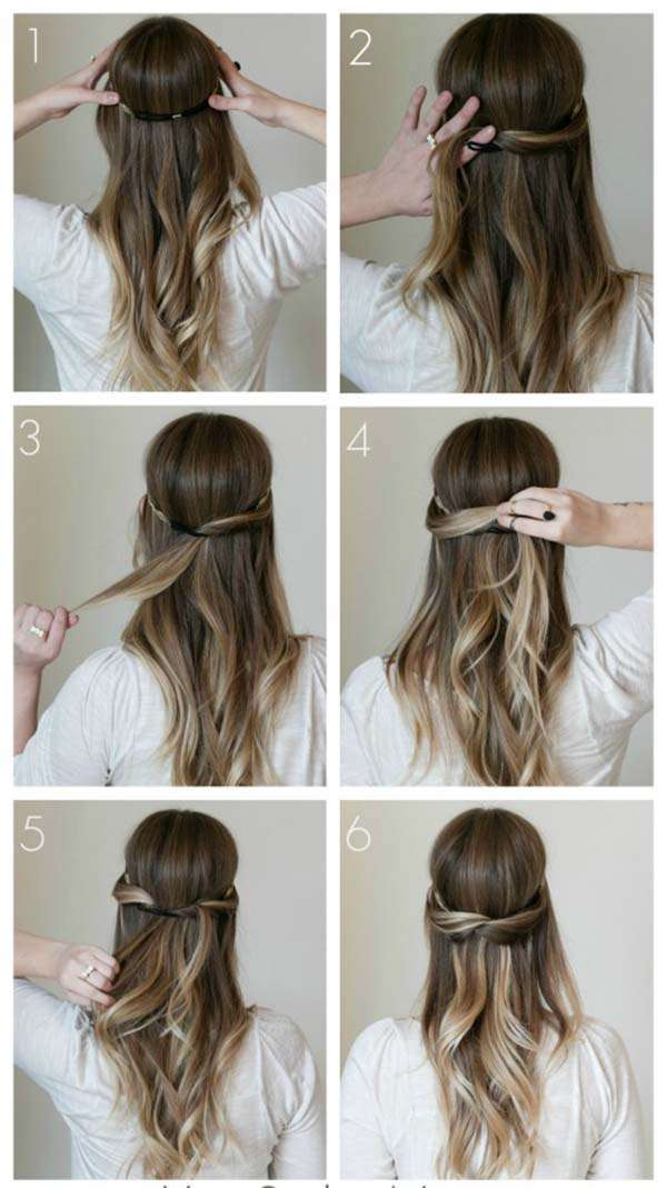 9 evergreen hairstyles tutorials for my ladies 4
