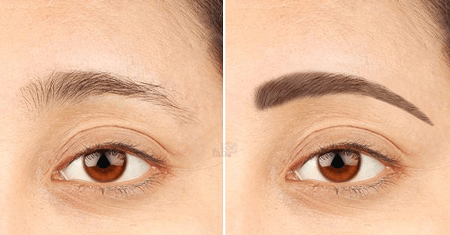 Do you need thick eyebrows, follow these steps