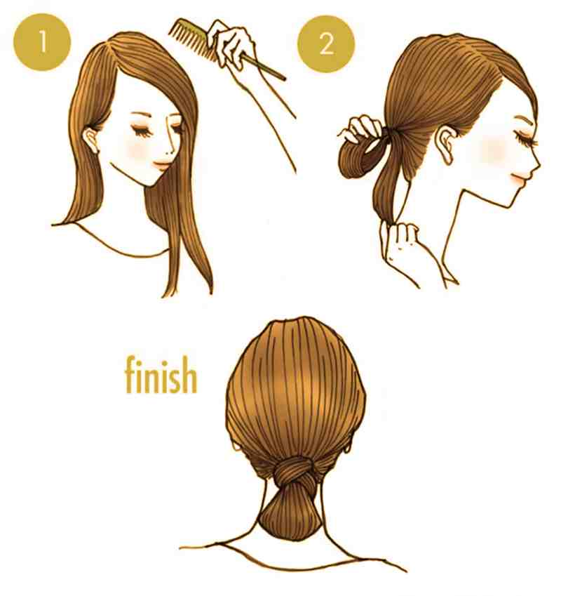 10 Quick Cute Hairstyles That Take Only 2 Minutes Of Your Time 2
