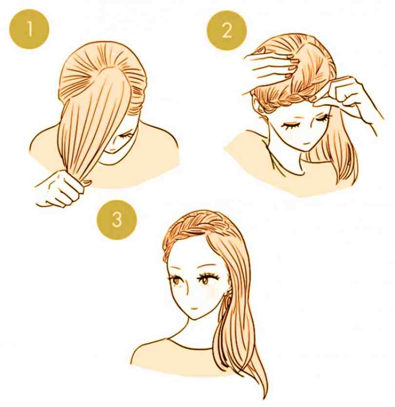 10 Quick Cute Hairstyles That Take Only 2 Minutes Of Your Time 7