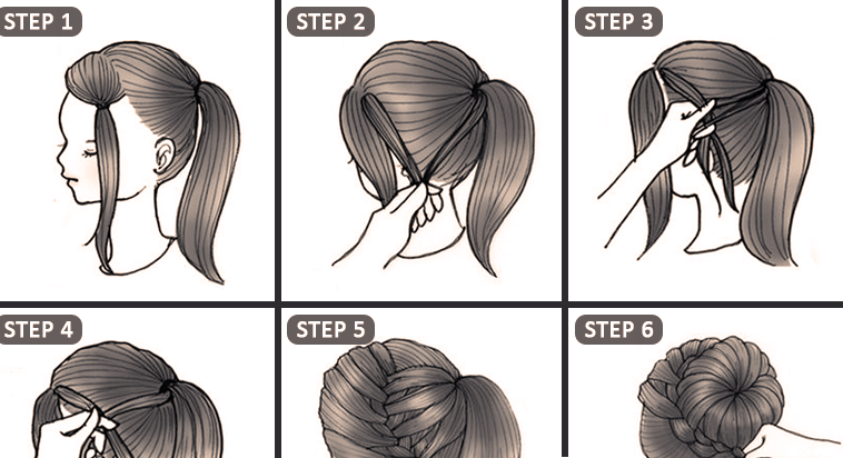 Make 10 Cute Hairstyles In Only 2 Minutes