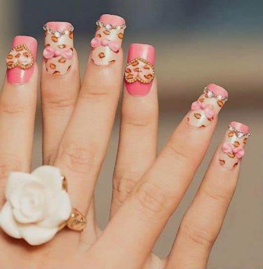The trendy nail arts never gonna out from fashion 6
