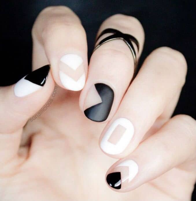 The trendy nail arts never gonna out from fashion 11
