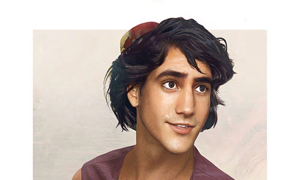 Disney prince realistic painting