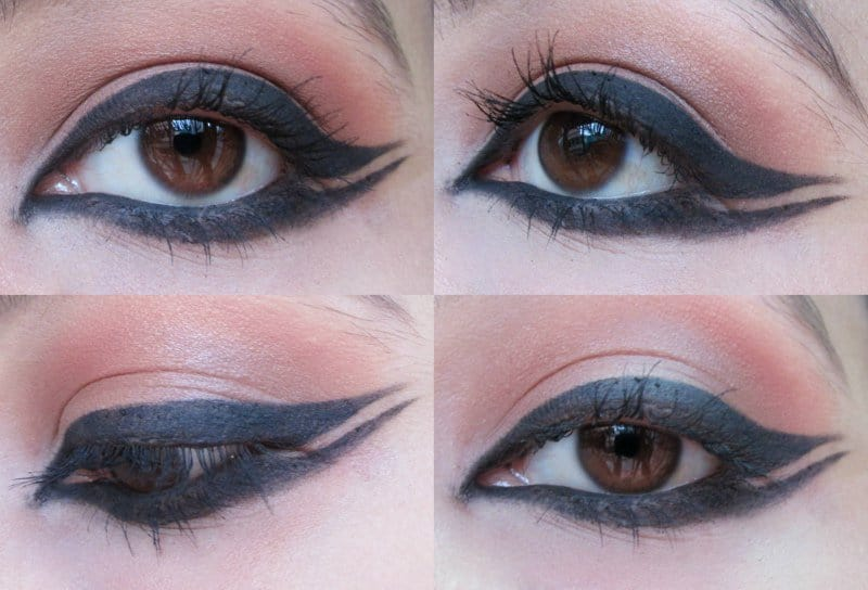 Winged Eyeliner: Step-by-step 7