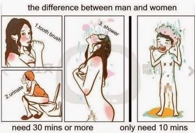 Check Out The Humorous Differences Between Men And Women 15