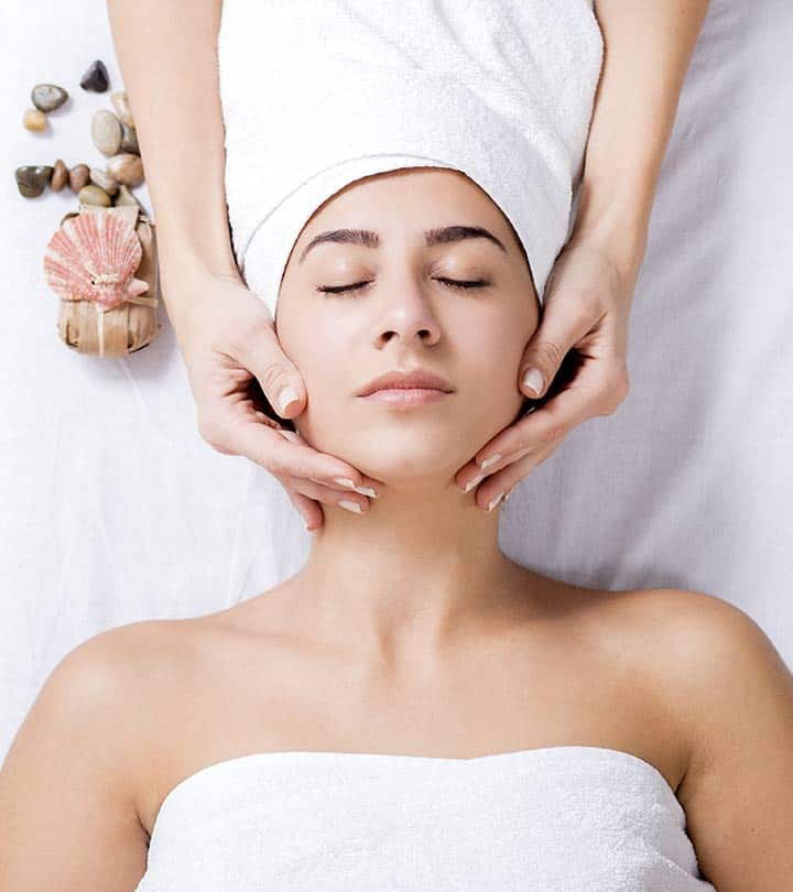 Image result for Strokes in an upward direction facial massage