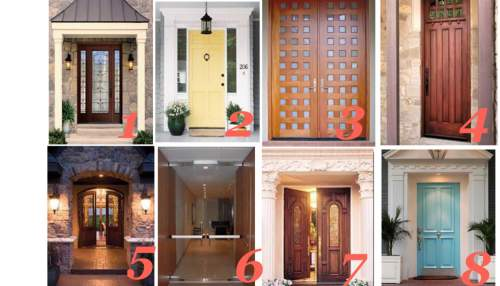 Pick a door to know more about your personality! 1