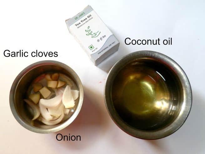 Homemade hair oil ingredients
