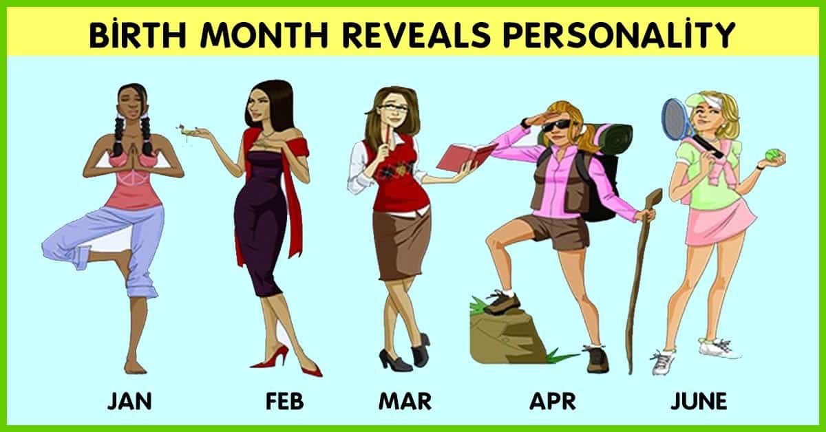 What does your birthday month reveals about your personality