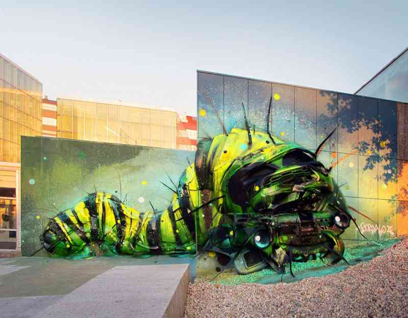 See How An Artist Turns Trash Into Animals So That It Depicts The Level Of Pollution. 3