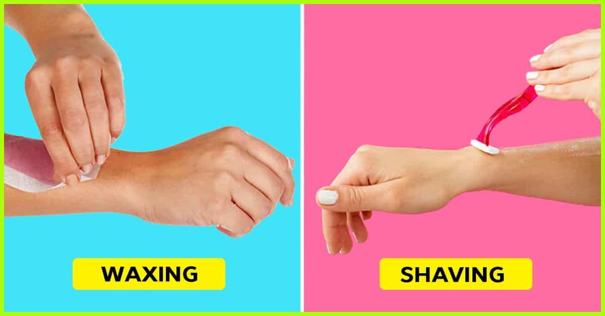 waxing vs shaving