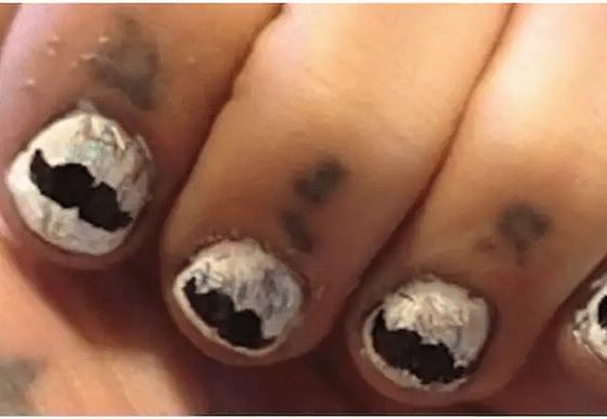 Failures in nail art