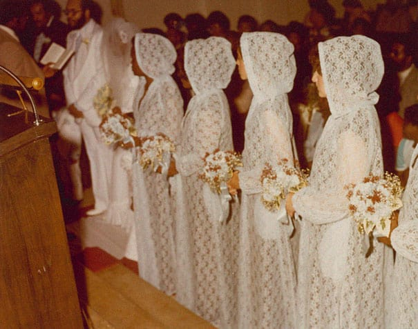 Some Of The Ridiculous Bridesmaid Dresses That Have Over Time 2