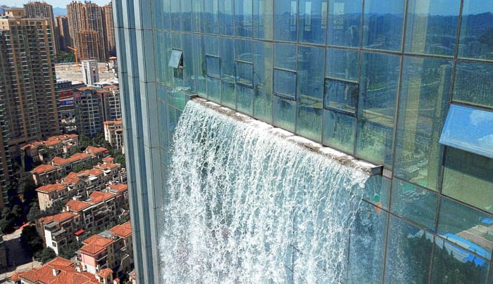 Chinese Built A Huge Human-Made Waterfall In Guiyang 7