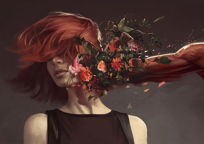 See What The Illustrator Creates Artwork That Might Haunt Your Broken Heart 6