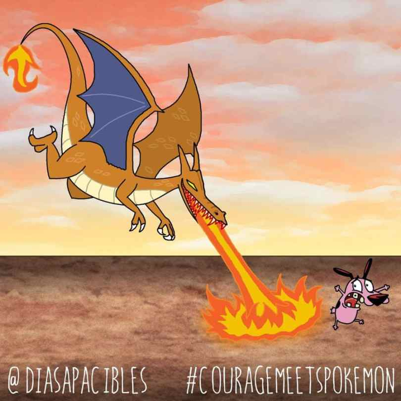 The Situation When Pokemon Meets Courageous The Cowardly Dog 7
