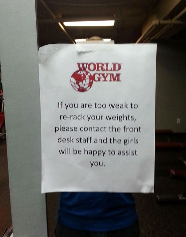 Situations When People Cannot Believe Their Eyes At The Gym 9