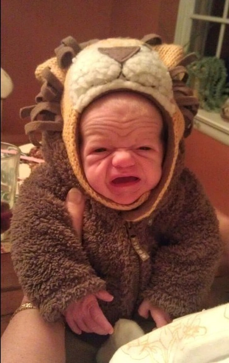 These 13 Best Babies Picture Expressions Who Might Look Older Than You 5