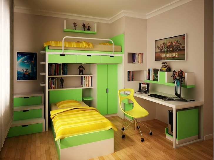 12 Best And Stunning Designs Of Children's Rooms That You Will Surely Love 6