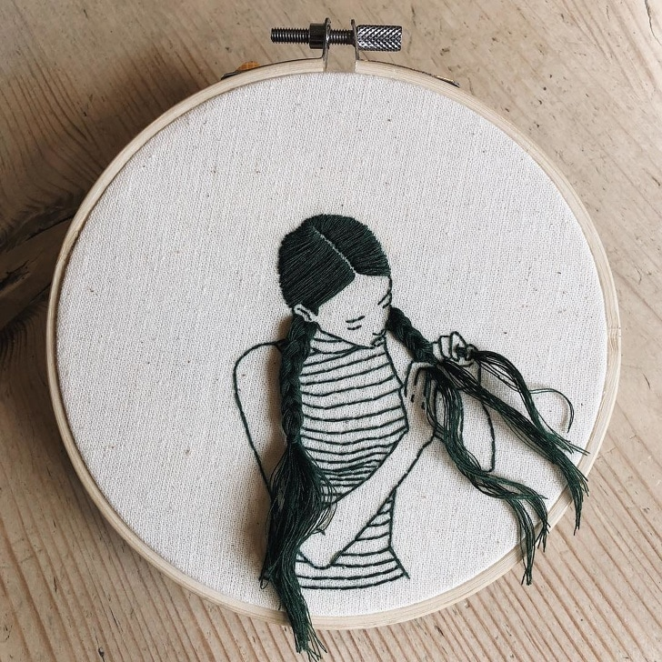 7 Best People Who Have Truly Turned Embroidery Into The MasterPieces 12