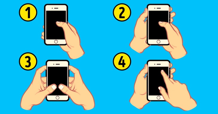 4 Best Facts Regarding Personality That Can Be Revealed By The Way Of Holding The Smart Phone 2