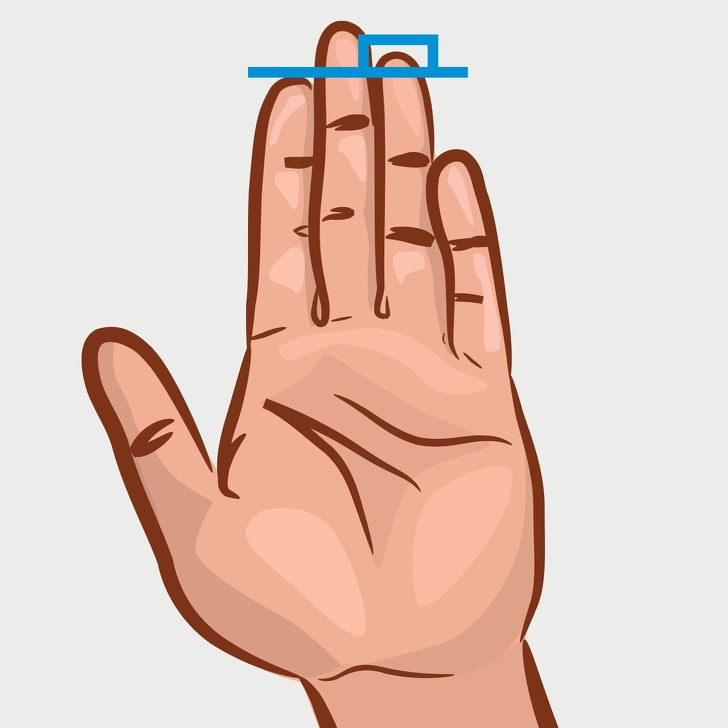 3 Best Things That The Length Of Finger Could Say About Your Personality 1