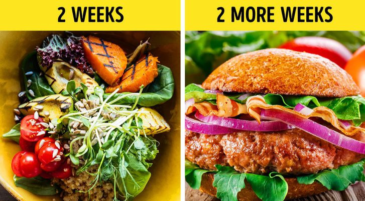 5 Diets for fit body