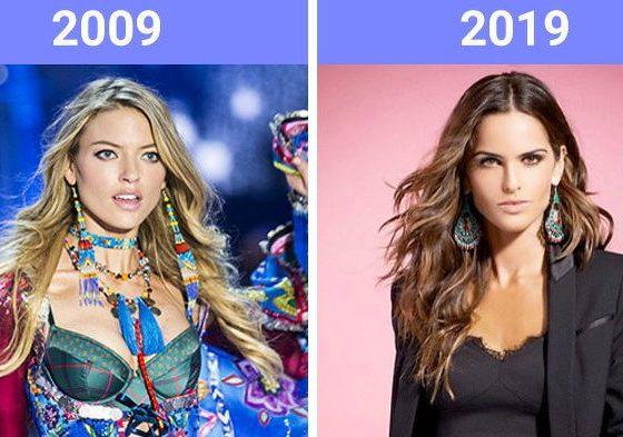 The Beauty Trends Of 10 Years Challenge Have Changed 26