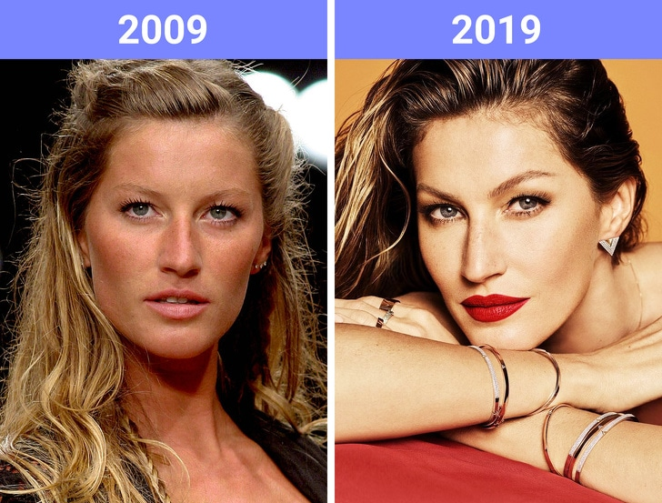 The Beauty Trends Of 10 Years Challenge Have Changed 2