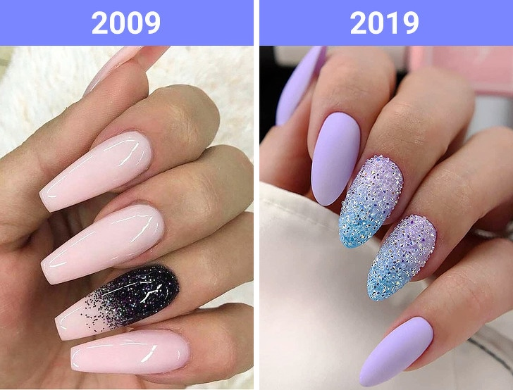 The Beauty Trends Of 10 Years Challenge Have Changed 7