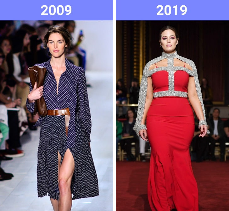 The Beauty Trends Of 10 Years Challenge Have Changed 10