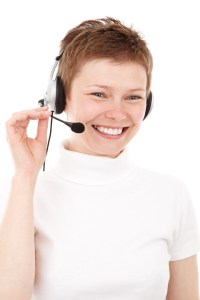 call center agent use stock images