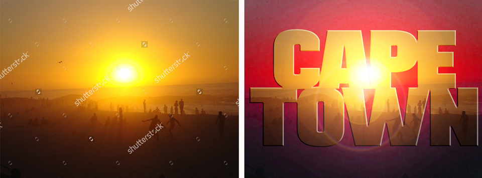 Sunset stock image marketing strategy