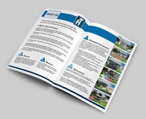 Architechno A4 Company Profile Design