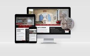 Fuzion Art & Design Web Design