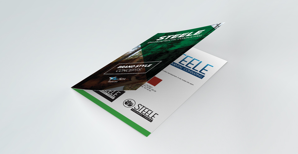 Steele Environmental Consulting Brand Style Concepts