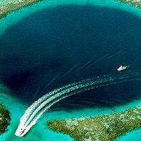 Warm-up Wednesday ~ Great Blue Hole Belize