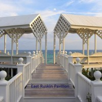 Seaside ~ beach pavilions