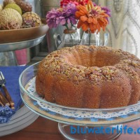 fall blog tour ~ {almost} famous rum cake!