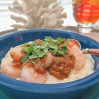 cottage shrimp and grits ~