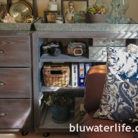 vintage look furniture finish ~