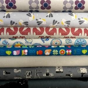 Cotton/Linen Blend Fabrics