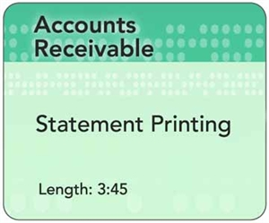 Picture of AR - Statement Printing (3:45)